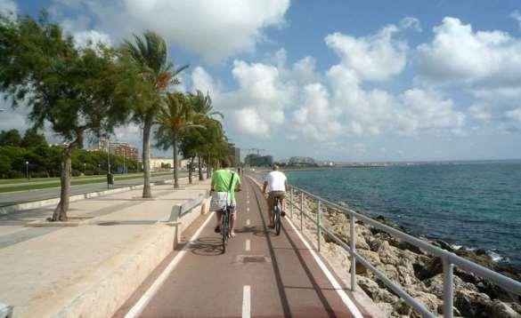 Cycling in Palma Majorca