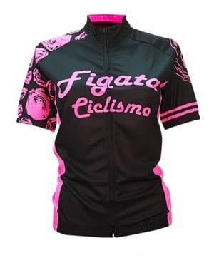Figata Ciclismo Short-Sleeve Jersey for Women