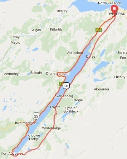 etape-loch-ness-route-map
